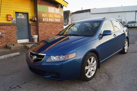 2004 Acura TSX for sale at Green Ride Inc in Nashville TN