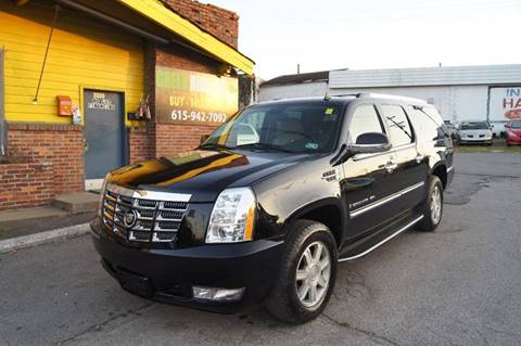 2008 Cadillac Escalade ESV for sale at Green Ride Inc in Nashville TN