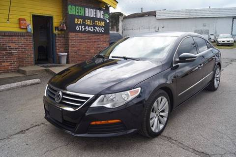 2011 Volkswagen CC for sale at Green Ride Inc in Nashville TN