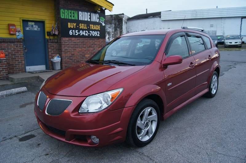 2007 Pontiac Vibe for sale at Green Ride Inc in Nashville TN