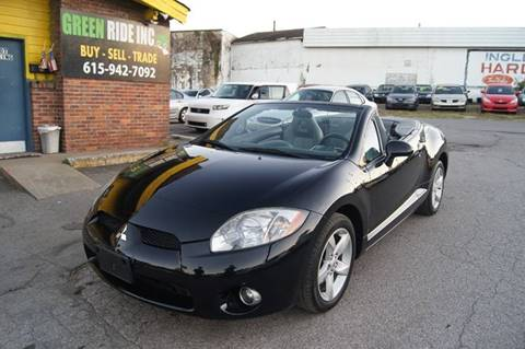 2007 Mitsubishi Eclipse Spyder for sale at Green Ride Inc in Nashville TN
