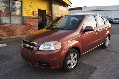 2011 Chevrolet Aveo for sale at Green Ride Inc in Nashville TN