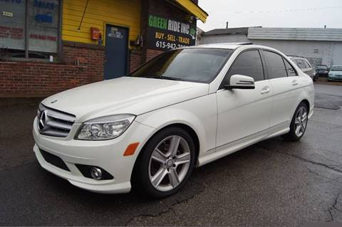 2010 Mercedes-Benz C-Class for sale at Green Ride Inc in Nashville TN