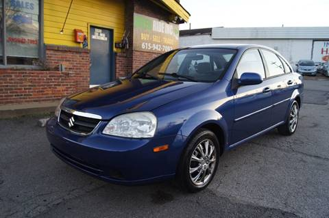 2008 Suzuki Forenza for sale at Green Ride Inc in Nashville TN