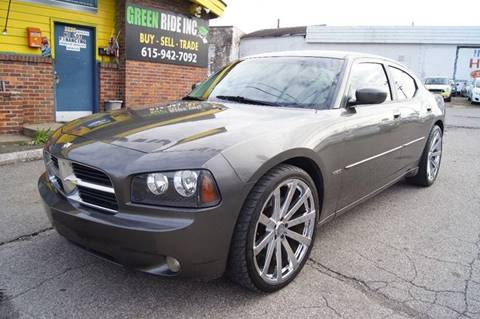 2009 Dodge Charger for sale at Green Ride Inc in Nashville TN