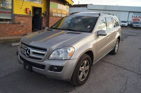 2008 Mercedes-Benz GL-Class for sale at Green Ride Inc in Nashville TN
