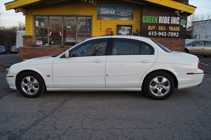 2000 Jaguar S-Type for sale at Green Ride Inc in Nashville TN