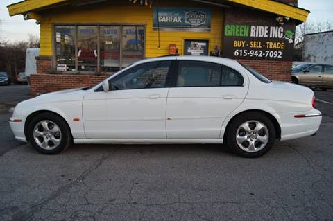 2000 Jaguar S-Type for sale at Green Ride Inc in Nashville TN