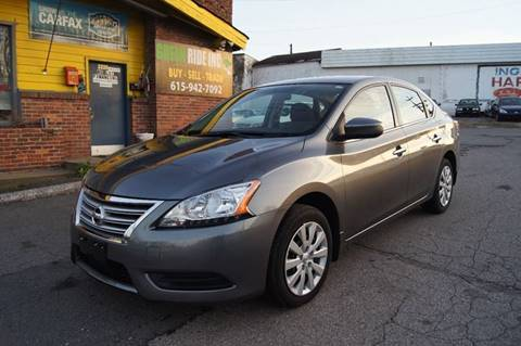 2015 Nissan Sentra for sale at Green Ride Inc in Nashville TN