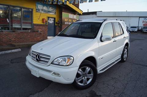 2005 Mercedes-Benz M-Class for sale at Green Ride Inc in Nashville TN