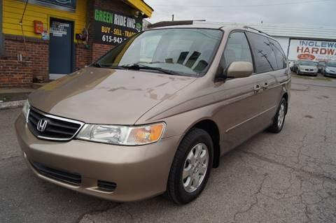 2003 Honda Odyssey for sale at Green Ride Inc in Nashville TN