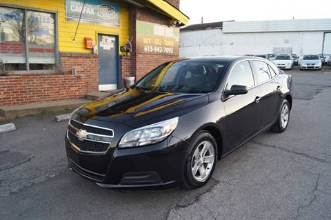 2013 Chevrolet Malibu for sale at Green Ride Inc in Nashville TN