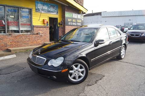 2004 Mercedes-Benz C-Class for sale at Green Ride Inc in Nashville TN
