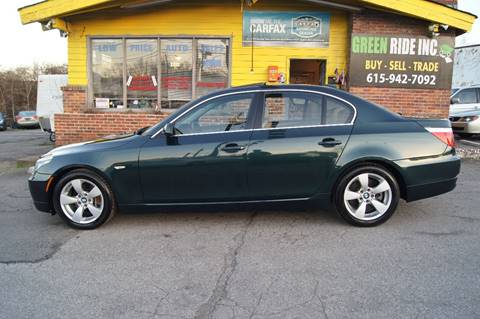 2008 BMW 5 Series for sale at Green Ride Inc in Nashville TN