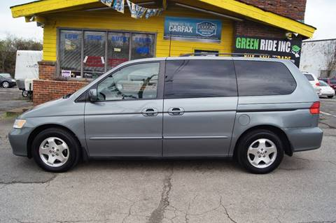 2001 Honda Odyssey for sale at Green Ride Inc in Nashville TN