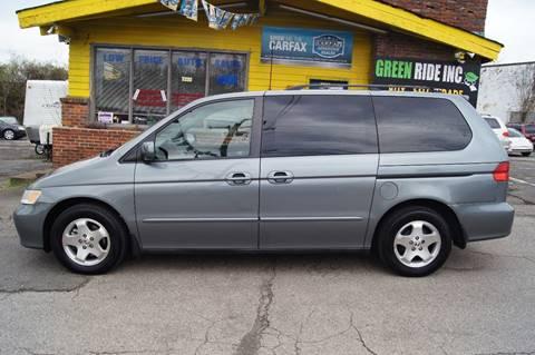 2001 Honda Odyssey for sale at Green Ride Inc in Nashville TN