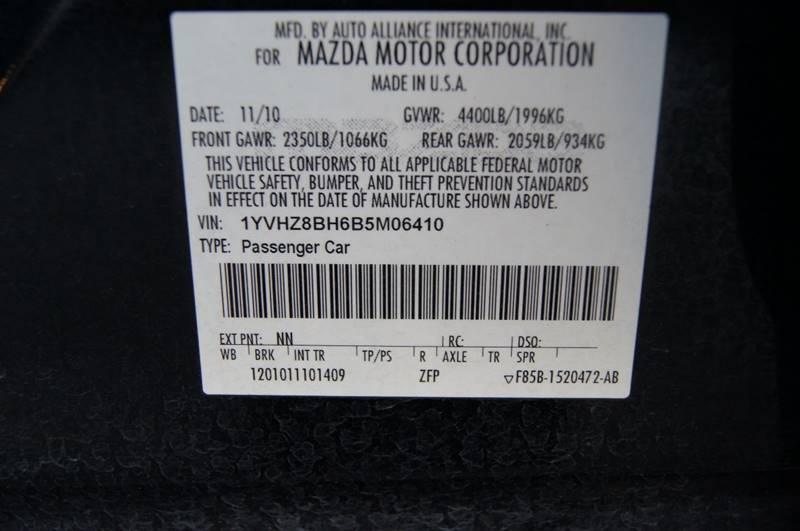 2011 Mazda MAZDA6 i Sport 4dr Sedan 5A - Nashville TN