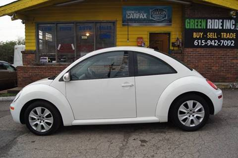 2009 Volkswagen New Beetle for sale at Green Ride Inc in Nashville TN