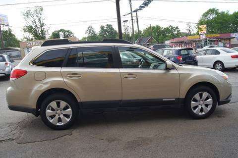2010 Subaru Outback for sale at Green Ride Inc in Nashville TN