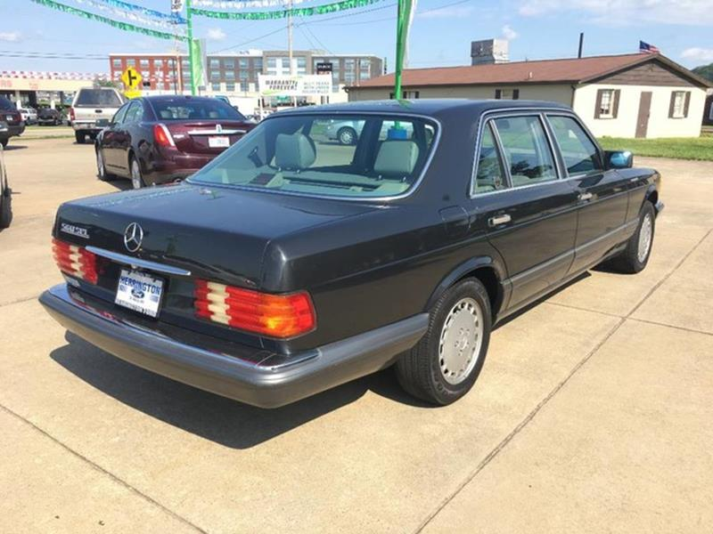 1990 Mercedes-Benz 560-Class for sale at Herrington Automotive Marietta in Marietta OH