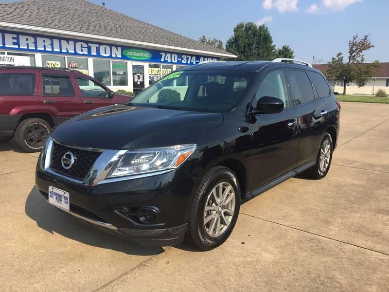 2013 Nissan Pathfinder for sale at Herrington Automotive Marietta in Marietta OH