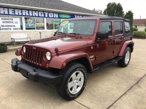 2007 Jeep Wrangler Unlimited for sale at Herrington Automotive Marietta in Marietta OH