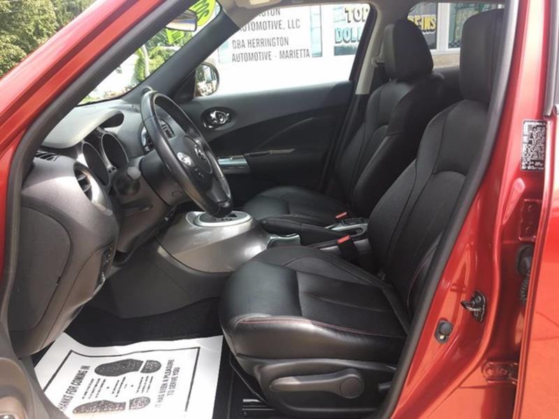 2012 Nissan JUKE for sale at Herrington Automotive Marietta in Marietta OH