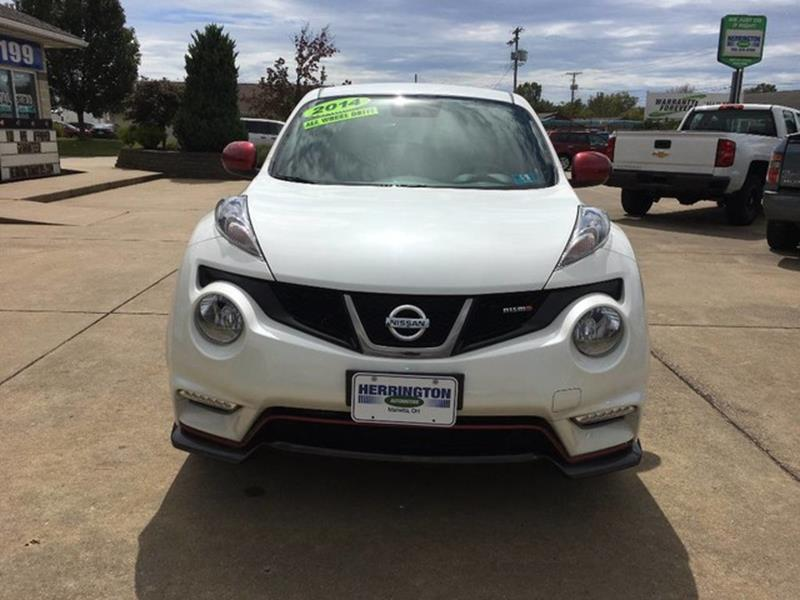 2014 Nissan JUKE for sale at Herrington Automotive Marietta in Marietta OH