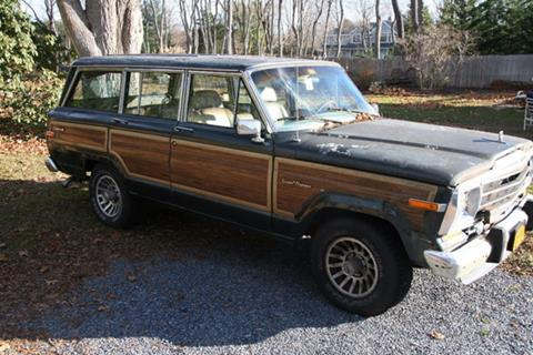 1991 Jeep Grand Wagoneer for sale in Riverhead, NY