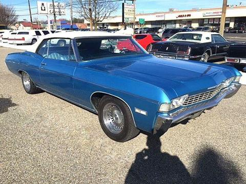 1968 Chevrolet Impala for sale in Riverhead, NY