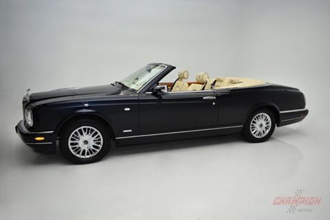 2002 Rolls-Royce Corniche for sale in Riverhead, NY