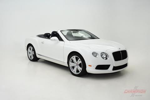 2013 Bentley Continental GTC V8 for sale in Riverhead, NY