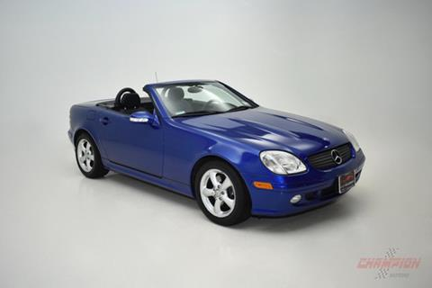2001 Mercedes-Benz SLK for sale in Riverhead, NY