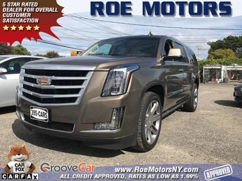 2015 Cadillac Escalade ESV for sale in Riverhead, NY