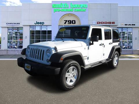 2014 Jeep Wrangler Unlimited for sale in Riverhead, NY