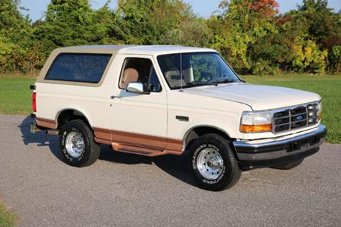 1995 Ford Bronco for sale in Riverhead, NY