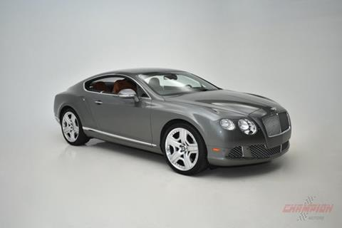 2012 Bentley Continental GT for sale in Riverhead, NY