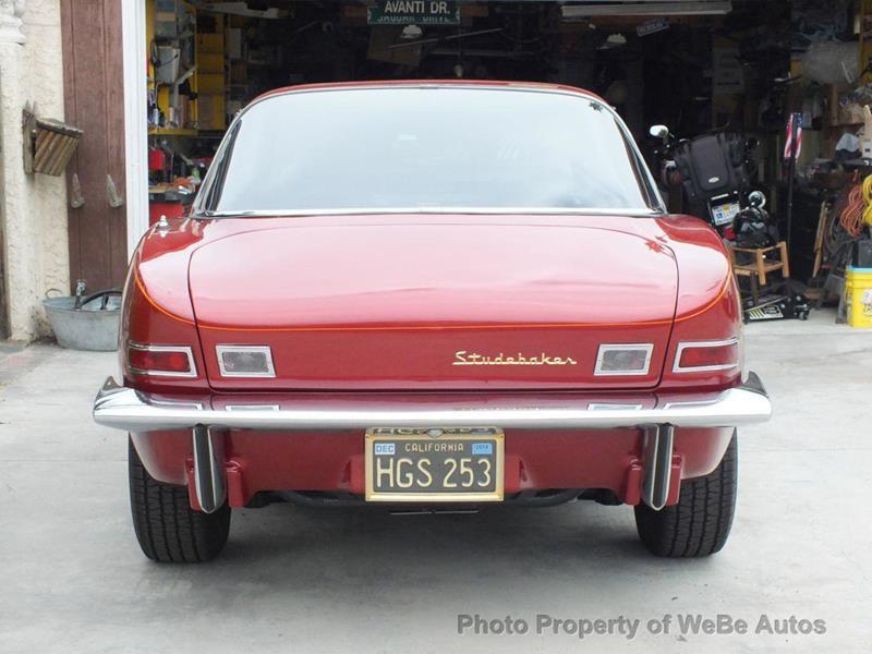 1963 Studebaker Avanti 6