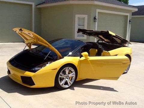 Used Lamborghini Gallardo For Sale In New York Carsforsale Com
