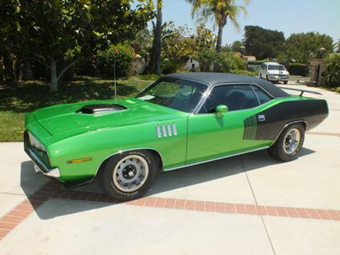 Used plymouth barracuda for sale