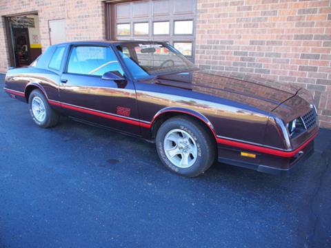 1987 Chevrolet Monte Carlo For Sale In Granby Co Carsforsale Com
