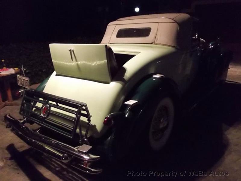1934 Cadillac Series Twenty 11