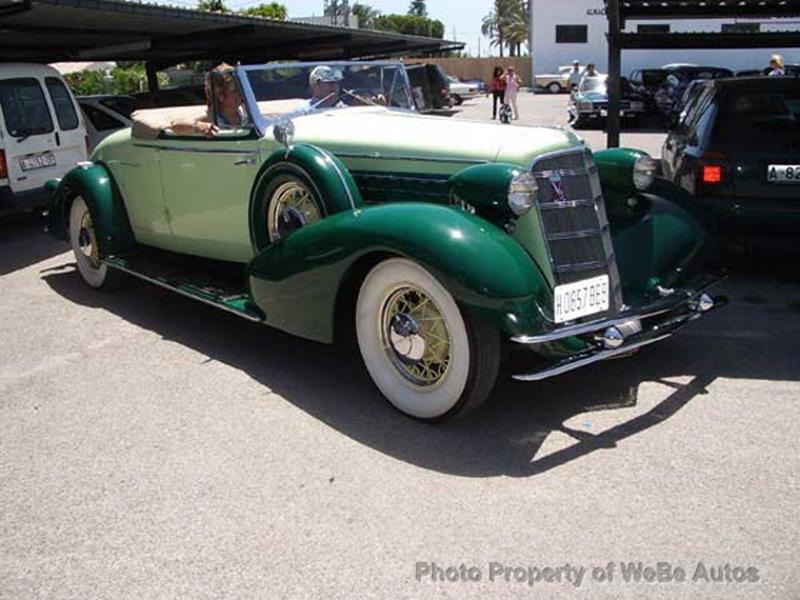 1934 Cadillac Series Twenty 4