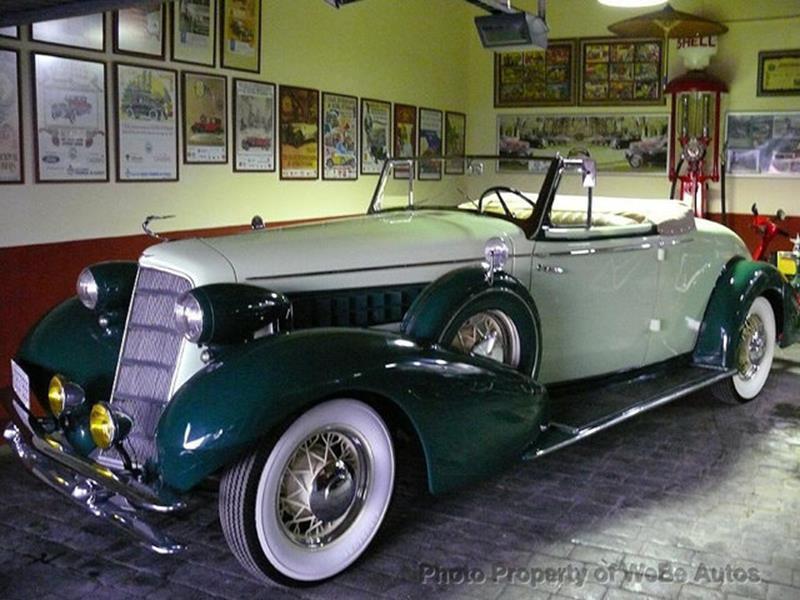 1934 Cadillac Series Twenty 1