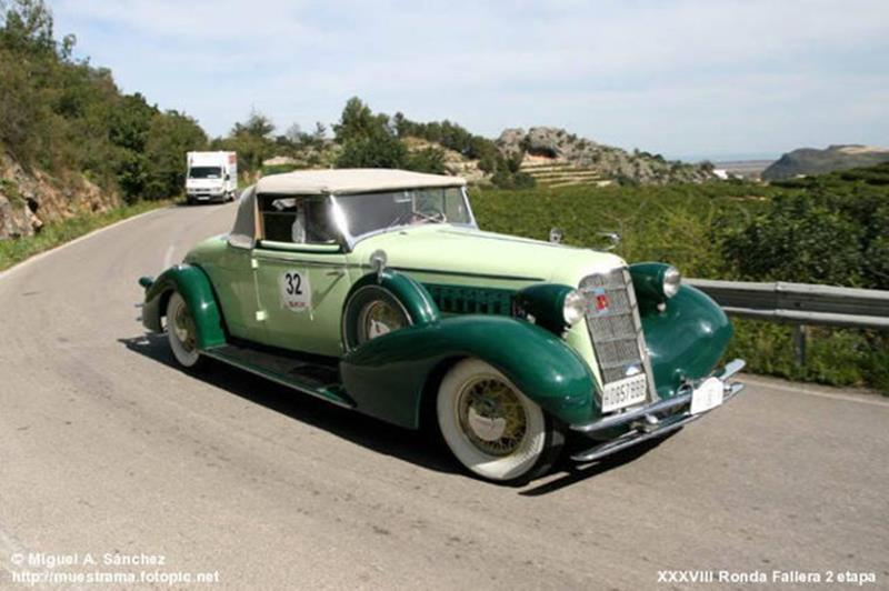 1934 Cadillac Series Twenty 8
