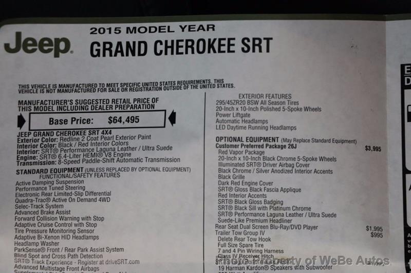 2015 Jeep Grand Cherokee 88