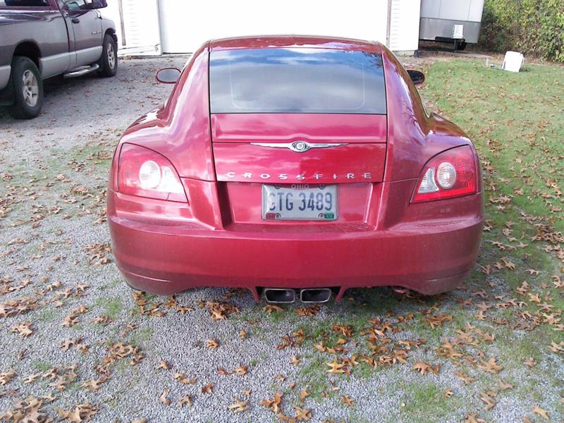2004 Chrysler Crossfire 4