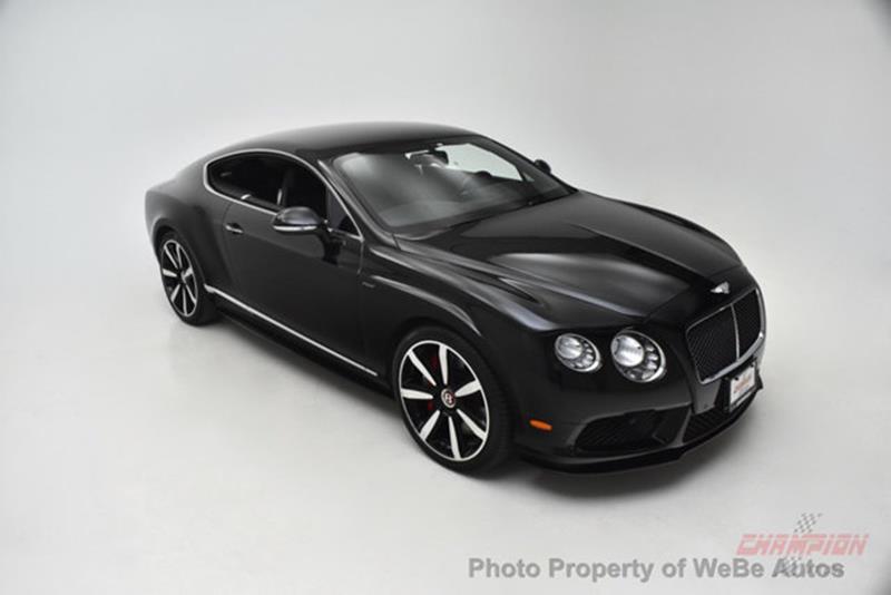 2015 Bentley Continental 3