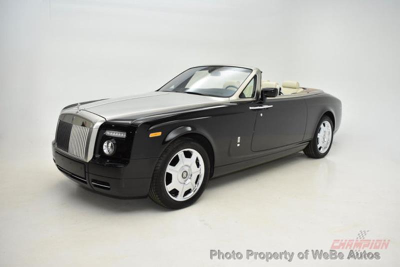 2009 Rolls-Royce Phantom Drophead Coupe 4