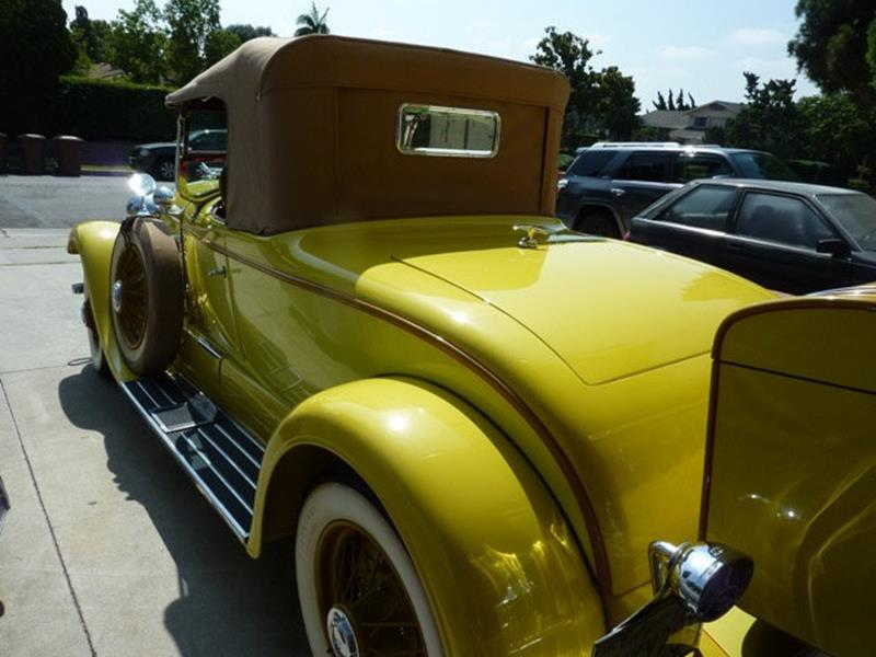 1929 Lincoln Model L 4